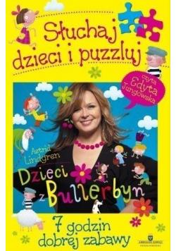 Dzieci z Bullerbyn Słuchaj dzieci i puzzluj