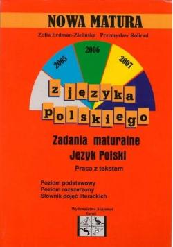 Nowa matura z języka polskiego ZP i ZR