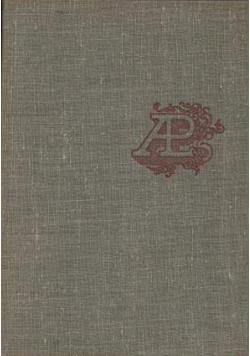 Antologia literatury powszechnej Tom I