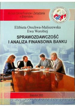 Sprawozdawczość i analiza finansowa banku