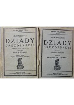 Dziady Drezdeńskie Część I i II 1929 r.