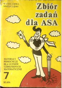 Zbiór zadań dla ASA 7 klasa