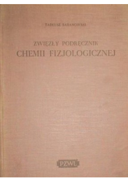 Zwięzły podręcznik chemii fizjologicznej