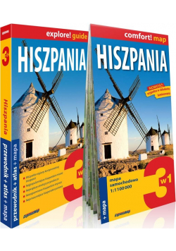 Hiszpania 3w1 Przewodnik  atlas mapa