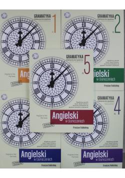 Angielski w tłumaczeniach zestaw 5 części plus CD