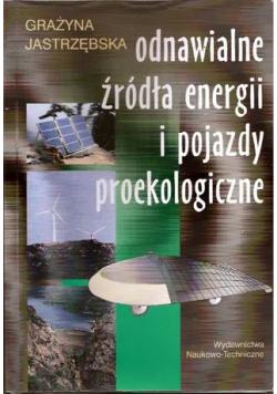 Odnawialne źródła energii i pojazdy proekologiczne