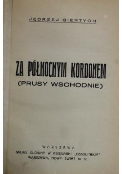 Za północnym kordonem 1934 r.