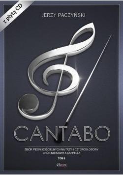 Cantabo T.2 Zbiór pieśni chóralnych+CD