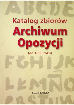 Katalog zbiorów Archiwum Opozycji