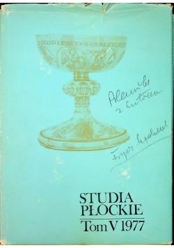 Studia Płockie Tom V 1997