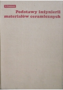 Podstawy inżynierii materiałów ceramicznych