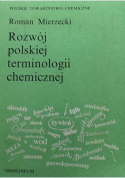 Rozwój polskiej terminologii chemicznej