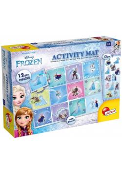 Puzzle 12 Activity Mat Kraina Lodu