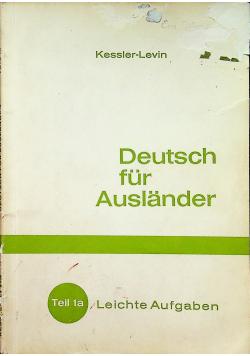 Deutsche fur Auslander Teil 1a
