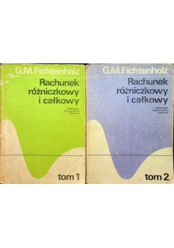 Rachunek różniczkowy i całkowy Tom I i II