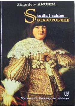 Studia i szkice staropolskie