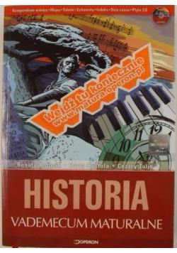 Historia Vademecum maturalne + CD