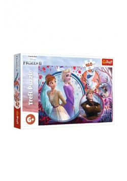 Puzzle 160 Frozen 2 Siostrzana przygoda