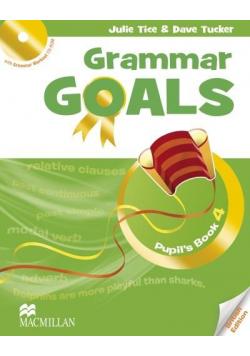 Grammar Goals 4 Książka ucznia + CD-Rom MACMILLAN