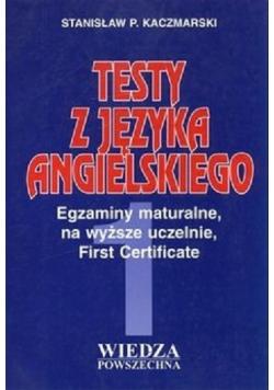 Testy z Języka Angielskiego Tom I