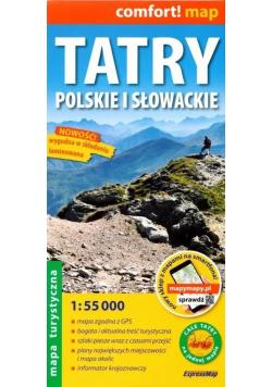 Comfort! map Tatry polskie i słowackie 1:55 000