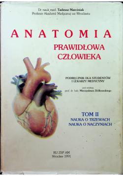 Anatomia prawidłowa człowieka Tom II
