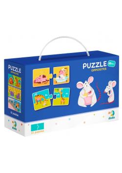 Puzzle 12x2 Zwierzęta - przeciwieństwa