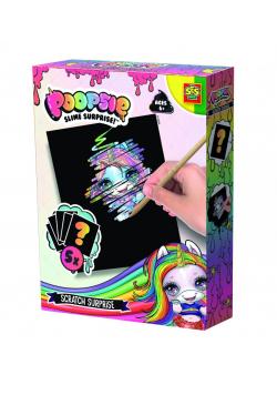 Kreatywna zabawa - Zdrapywanka Poopsie