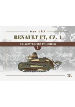 Renault FT cz. 1 1919-1939 T.1 Wojna, pokój...