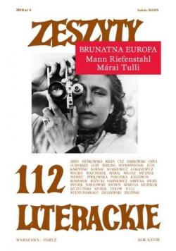 Zeszyty literackie 112 4/2010