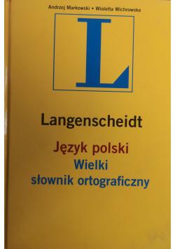 Język polski Wielki słownik ortograficzny