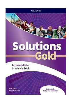 Solutions Gold Intermediate SB + CD PL OXFORD