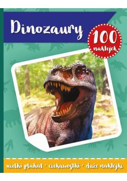 100 naklejek. Dinozaury w.2