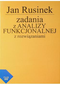 Zadania z analizy funkcjonalnej z rozwiązywaniami