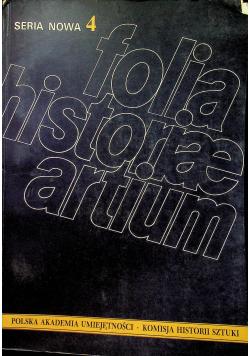 Folia historiae artium tom 4