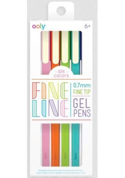 Długopisy żelowe Fine Line 6szt