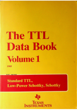 The TTL Data Book Volume 1
