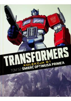 Transformers Tom 52 Śmierć Optimusa Primea