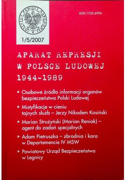 Aparat represji w Polsce Ludowej 1944 1989 Nr 1