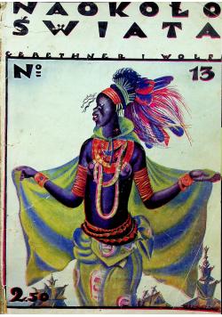 Naokoło świata 3 numery 1925 r.