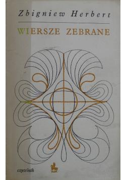 Herbert Wiersze zebrane