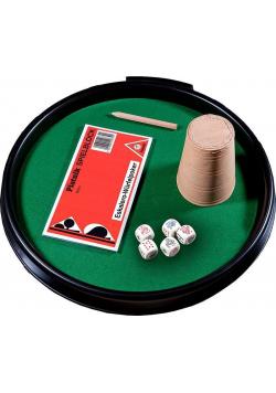 Kości pokerowe z tacką kubkiem i bloczkiem NOWA