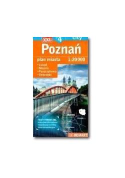 Poznań plus 4 - plan miasta