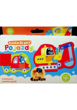 Puzzle do pary  Pojazdy