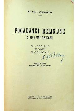 Pogadanki religijne z małemi dziećmi 1921r