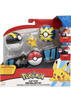 Pokemon Clip'N'Go Pas Pikachu
