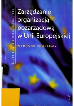 Zarządzanie organizacją pozarządową w unii europejskiej