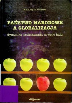 Państwo narodowe a globalizacja