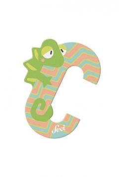 Litera C Chameleon Zestaw zwierzęcy 12 sztuk