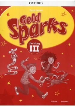 Gold Sparks 3 Zeszyt ćwiczeń